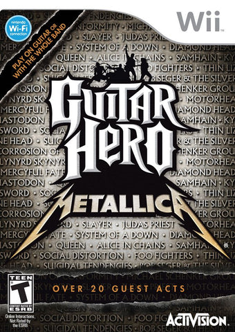 Guitar Hero: Metallica - Nintendo Wii [USED]