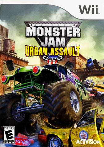 Monster Jam: Urban Assault - Nintendo Wii [USED]