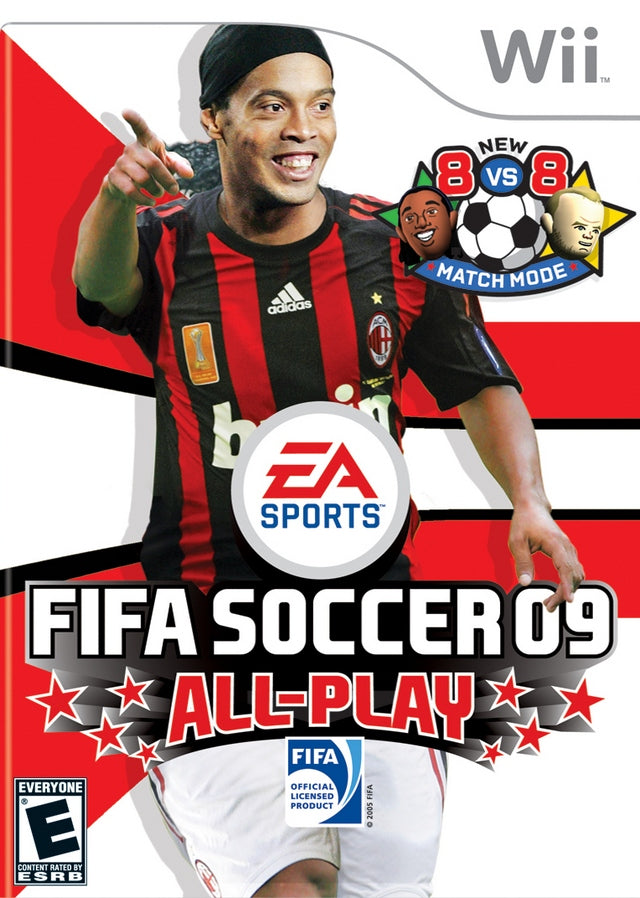 FIFA Soccer 09 All-Play - Nintendo Wii [USED]