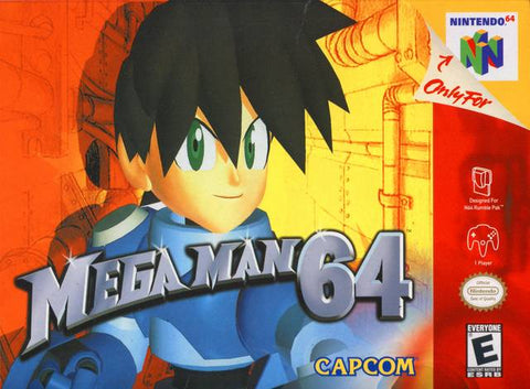 Mega Man 64 - Nintendo 64 [USED]