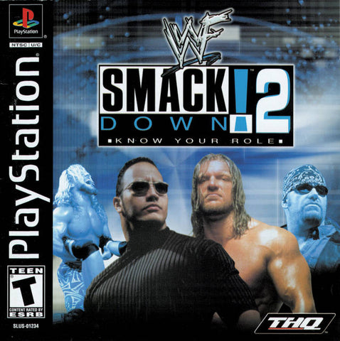 WWF SmackDown! 2: Know Your Role - PlayStation