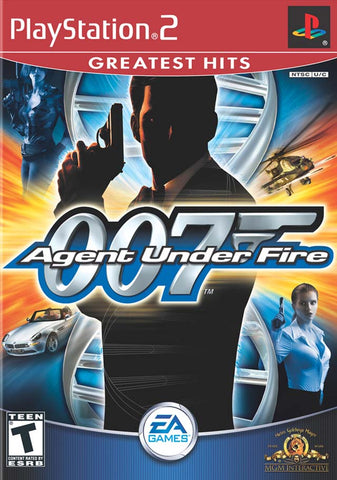 James Bond 007: Agent Under Fire (Greatest Hits) - PlayStation 2