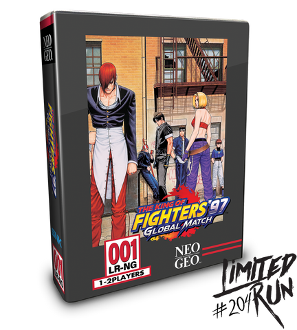 KOF 97 Global Match Classic Edition - PS Vita (Limited Run #204)