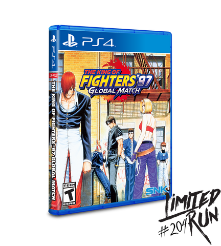 The King of Fighters 97 Global Match - PlayStation 4 (Limited Run #204)