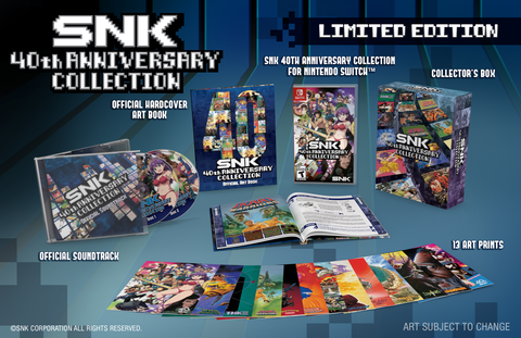 SNK 40th Anniversary Collection (Limited Edition) - Nintendo Switch