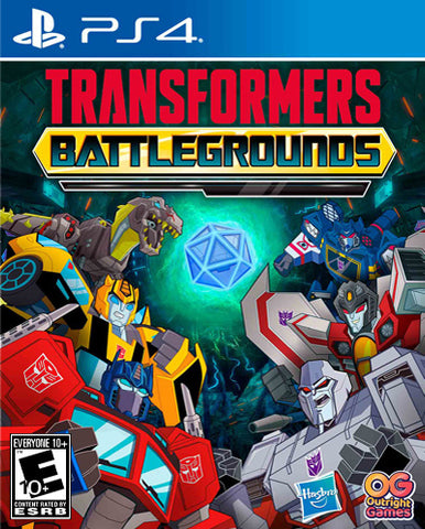 Transformers: Battlegrounds - PlayStation 4