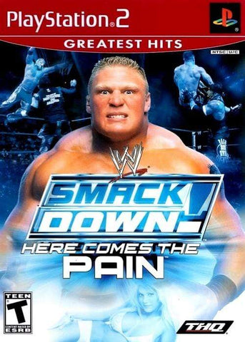 WWE SmackDown! Here Comes the Pain ( Greatest Hits ) - PlayStation 2