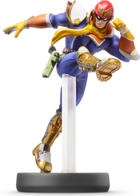 Captain Falcon (Super Smash Bros. Series) Amiibo