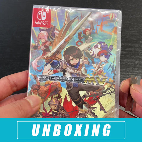 RPG Maker MV - Nintendo Switch Unboxing