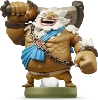 Daruk (The Legend of Zelda Series) Amiibo