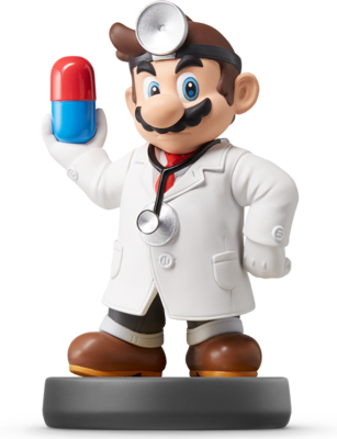 Dr. Mario (Super Smash Bros. Series) Amiibo