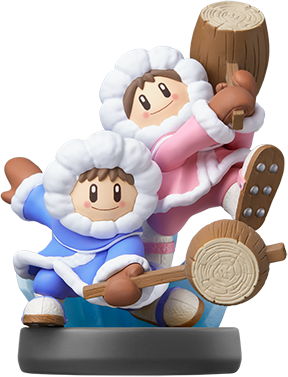 Ice Climbers (Super Smash Bros. Series) Amiibo