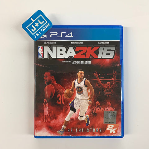 NBA 2K16 - PlayStation 4-Front Cover