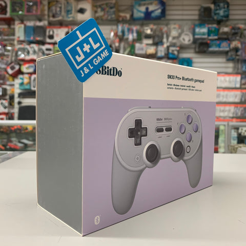 8Bitdo Sn30 Pro+ Bluetooth Gamepad (Sn Edition) - Nintendo Switch [NEW]