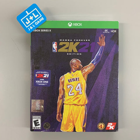 NBA 2K21 Mamba Forever Edition - Xbox Series X [NEW]