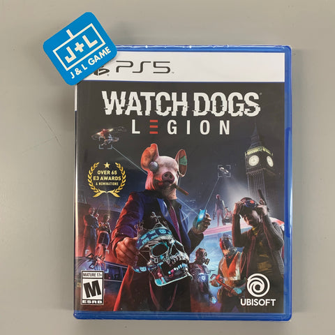 Watch Dogs: Legion - PlayStation 5-Front Cover