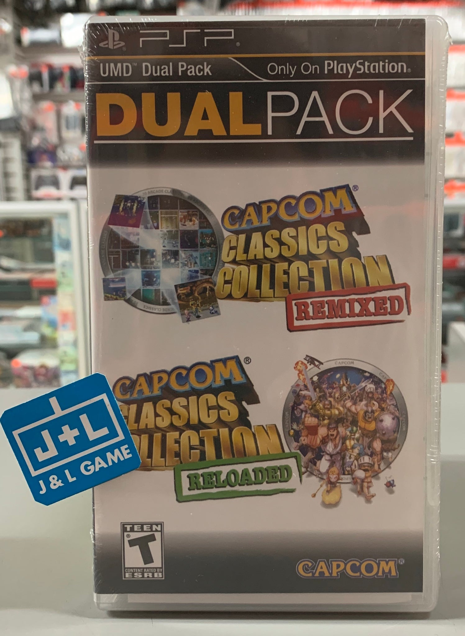 Capcom Classics Dual Pack: Remixed and Reloaded - PSP