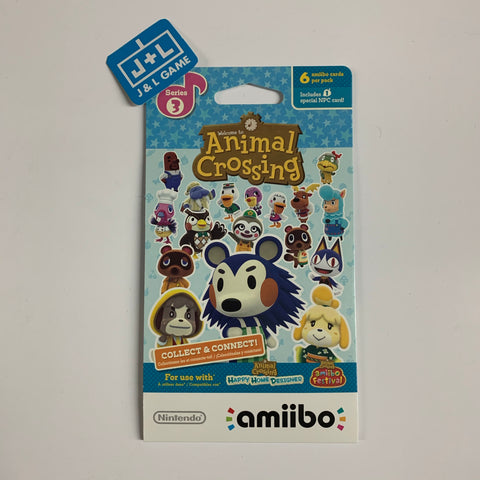 Nintendo Animal Crossing Cards - Series 3 (Pack of 6 cards) [NEW]