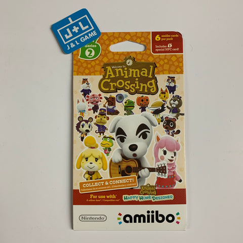 Nintendo Animal Crossing Cards - Series 2 (Pack of 6 cards) [NEW]