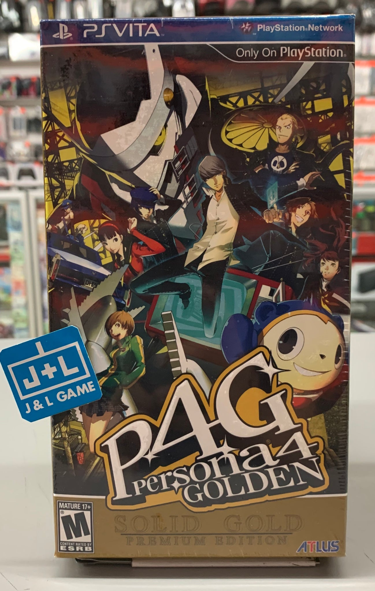 Persona 4 Golden: Solid Gold Premium Edition - PlayStation Vita