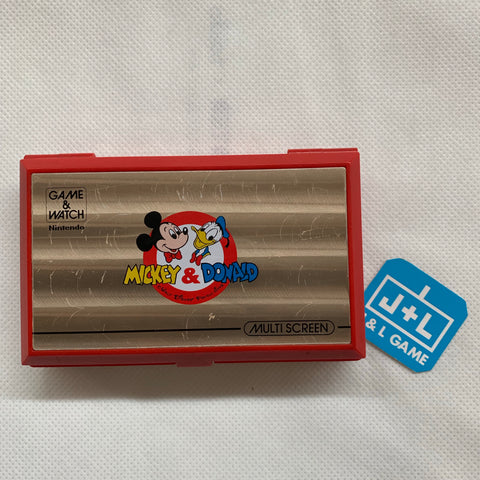 Mickey & Donald (Game & Watch)