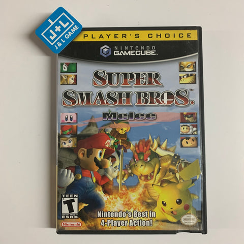 Super Smash Bros. Melee ( Greatest Hits ) - GameCube-Front Cover