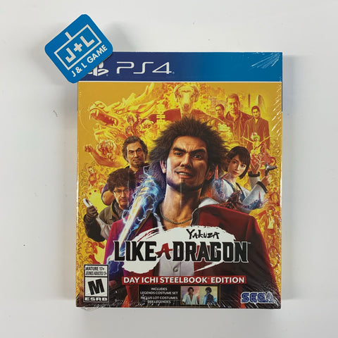 Yakuza: Like a Dragon - Day Ichi Edition - PlayStation 4-Front Cover