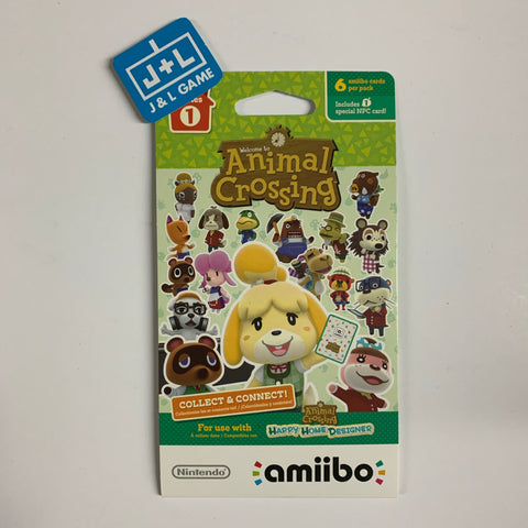 Nintendo Animal Crossing Cards - Series 1 (Pack of 6 cards) [NEW]