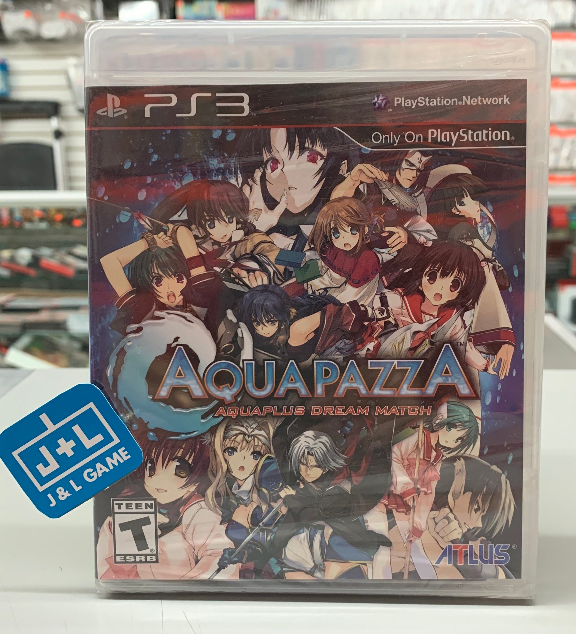 AquaPazza: AquaPlus Dream Match - PlayStation 3