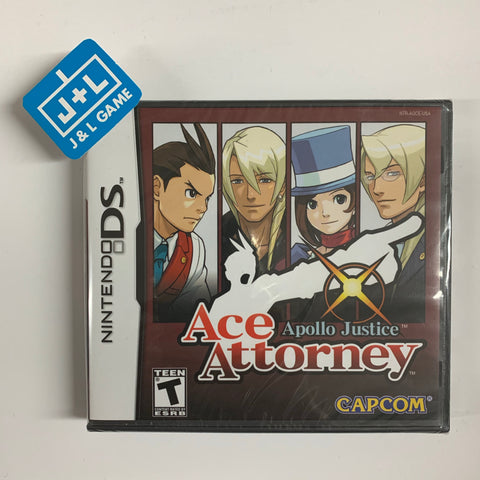 Apollo Justice: Ace Attorney - Nintendo DS [NEW]