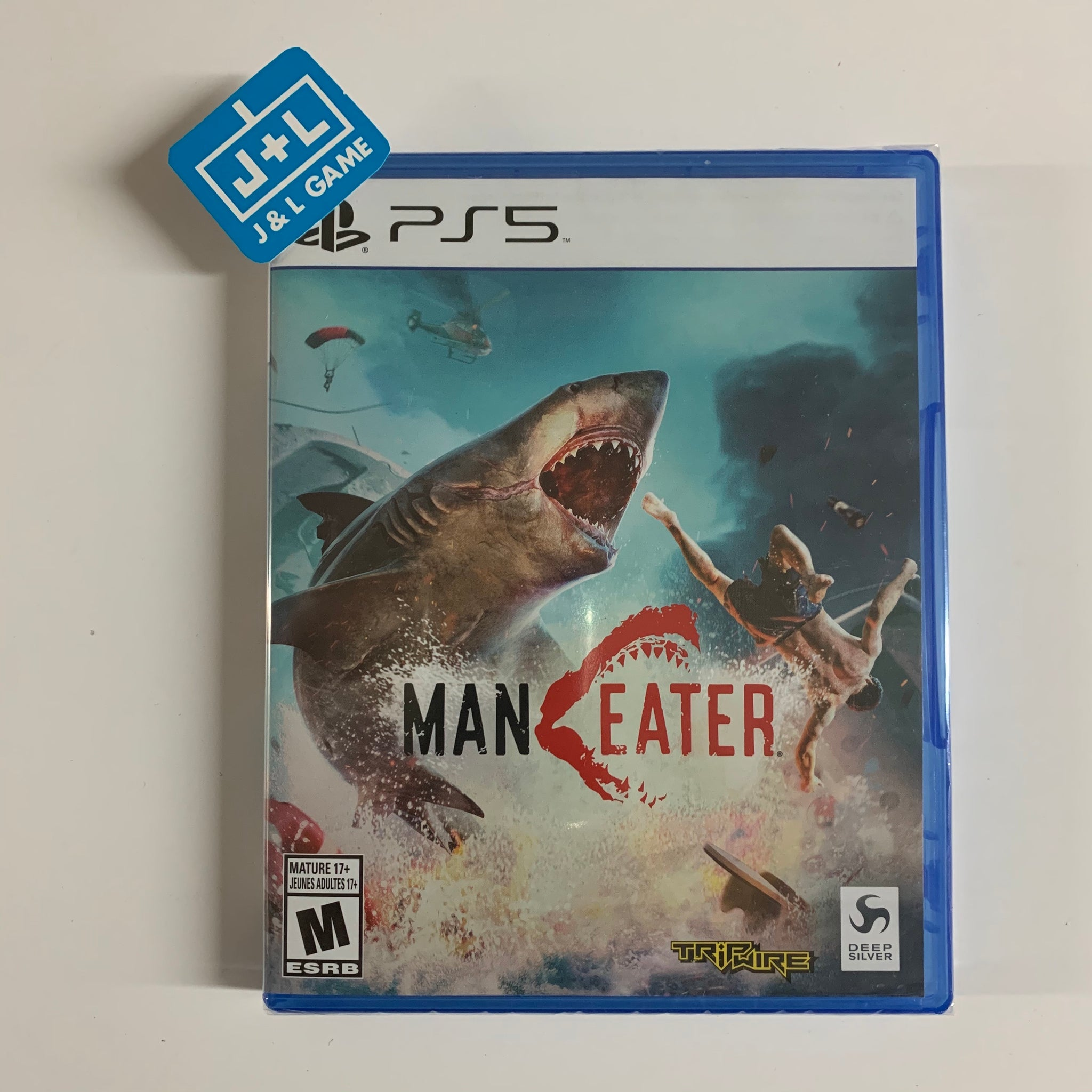 Maneater - PlayStation 5 Box Cover