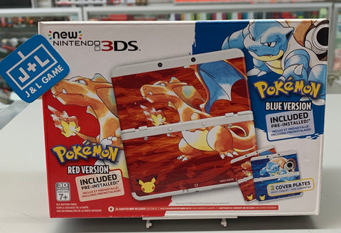 Nintendo New 3DS - Pokemon 20th Anniversary Edition-1