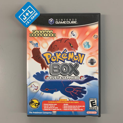 Pokemon Box: Ruby and Sapphire - GameCube