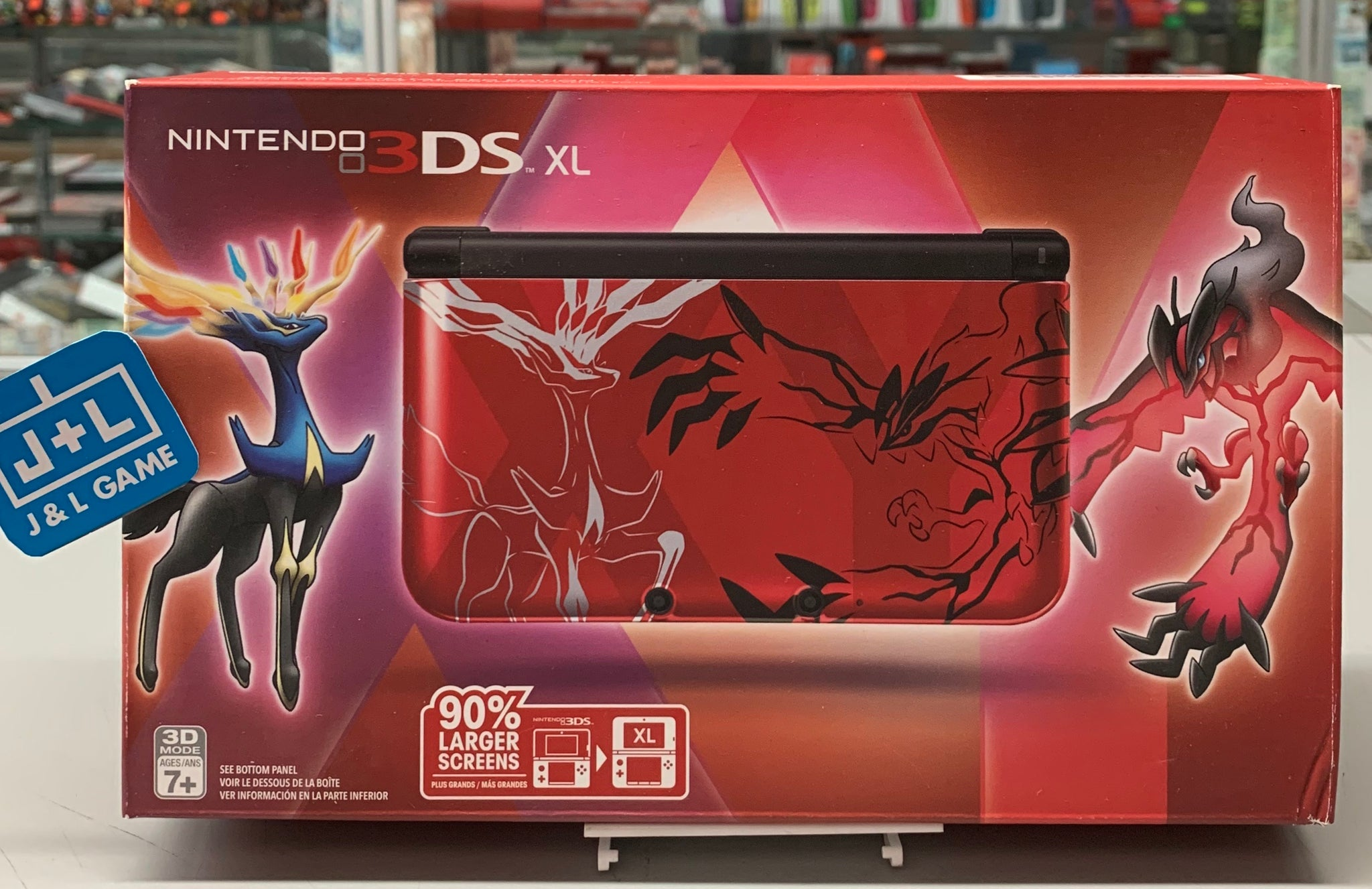 Nintendo Pokémon X & Y Limited Edition 3 DS XL (Red) - Nintendo 3DS-1