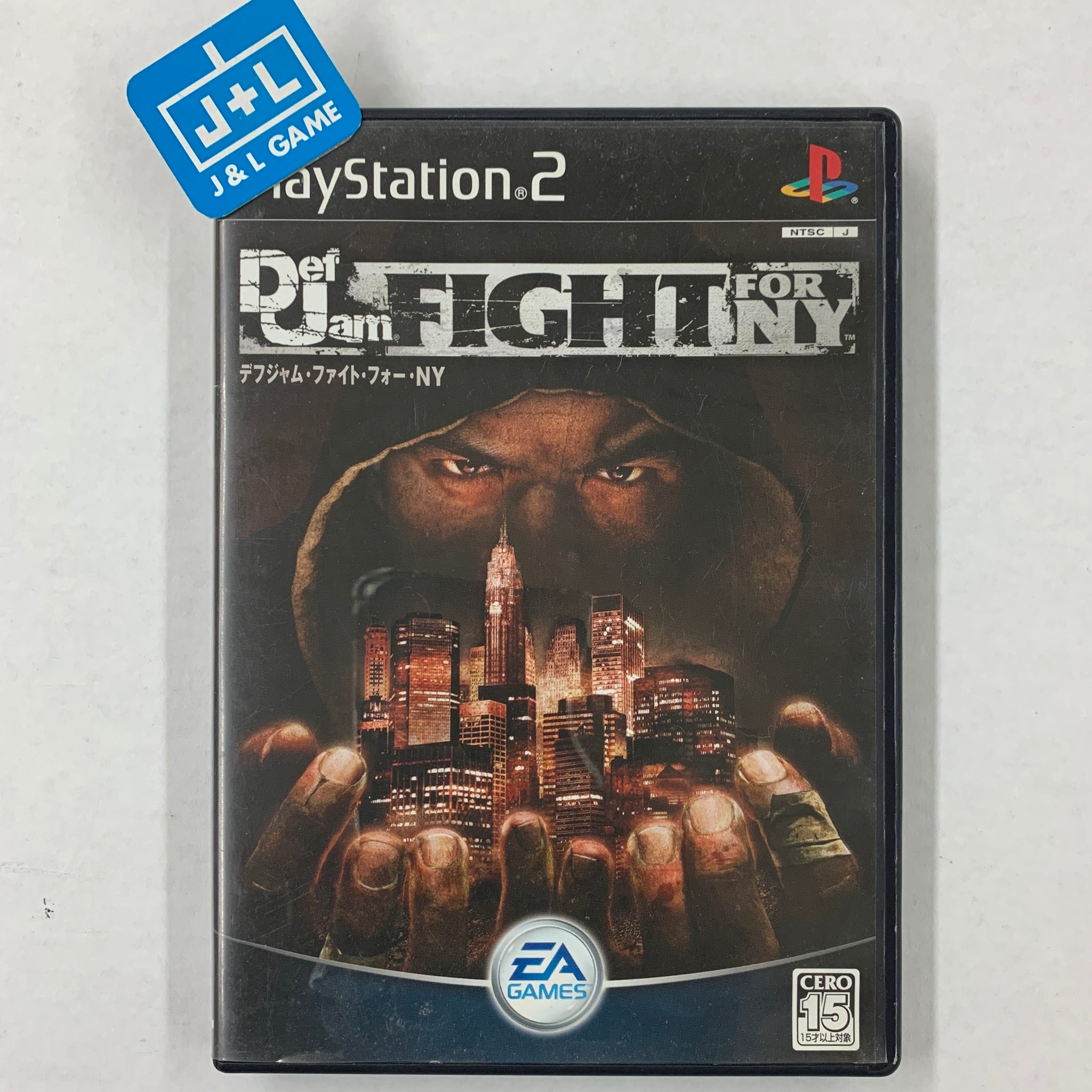 Def Jam: Fight for NY - PlayStation 2 (Japan)-Front Cover