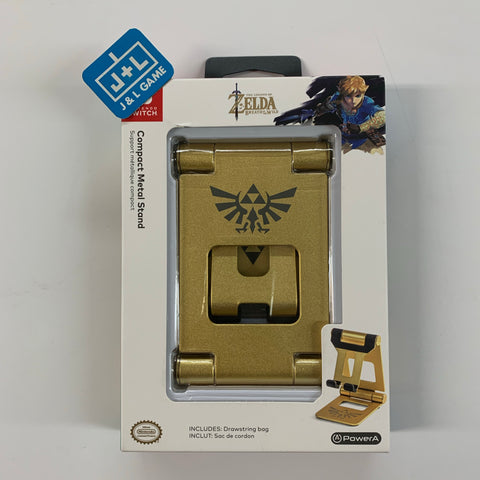 PowerA Compact Metal Stand Zelda Breath of The Wild - Gold - Nintendo Switch