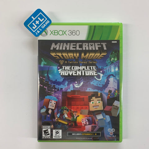Minecraft: Story Mode - A Telltale Games Series - The Complete Adventure - Xbox 360 [NEW]