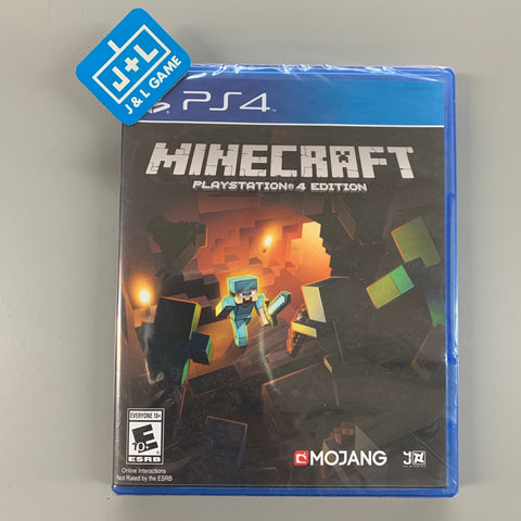 Minecraft: PlayStation 4 Edition - PlayStation 4-Front Cover