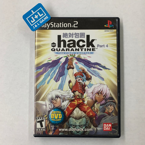 .hack, Part 4: Quarantine - PlayStation 2