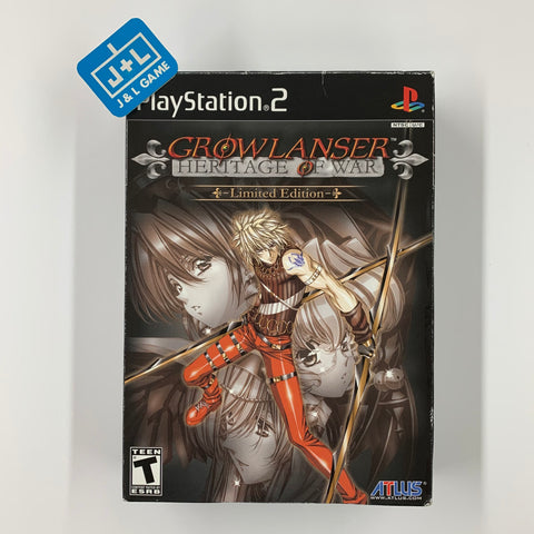 Growlanser: Heritage of War Limited Edition - PlayStation 2 Pre-Owned