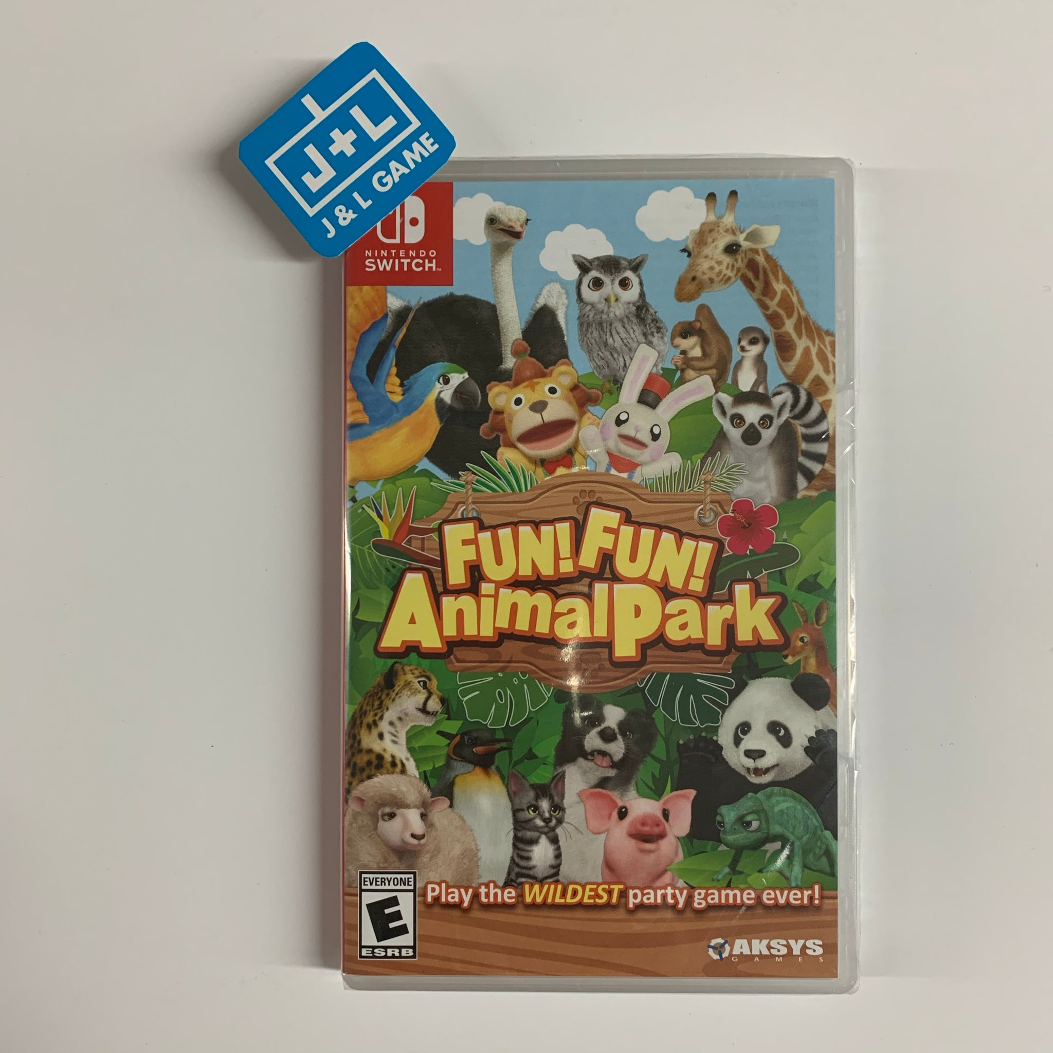 FUN! FUN! Animal Park - Nintendo Switch [NEW]