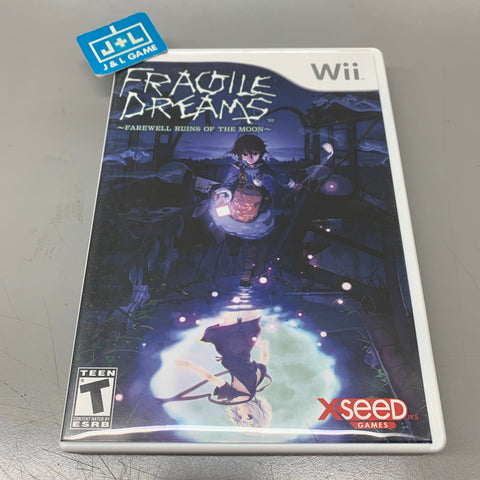 Fragile Dreams: Farewell Ruins of the Moon - Nintendo Wii-Front Cover