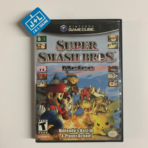 Super Smash Bros. Melee - GameCube-Front Cover