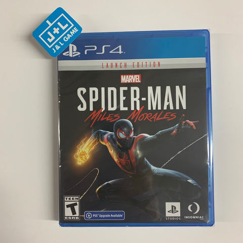 Marvel's Spider-Man: Miles Morales Launch Edition - PlayStation 4 [NEW]