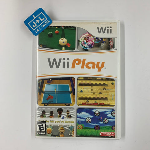 Wii Play - Nintendo Wii-Pre-Owned