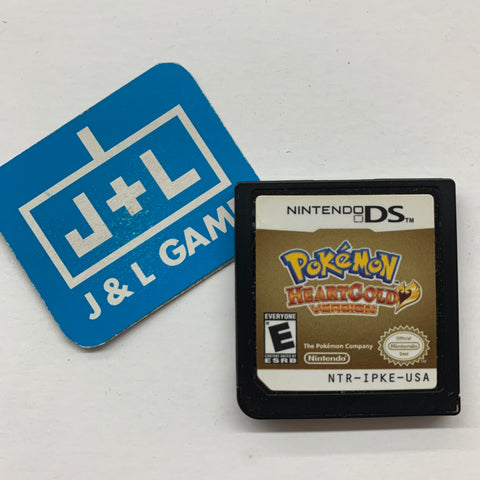 Pokemon HeartGold Version - Nintendo DS Pre-Owned