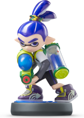 Inkling Boy (Splatoon Series) Amiibo