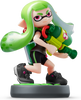 Inkling Girl (Splatoon Series) Amiibo (Lime Green)
