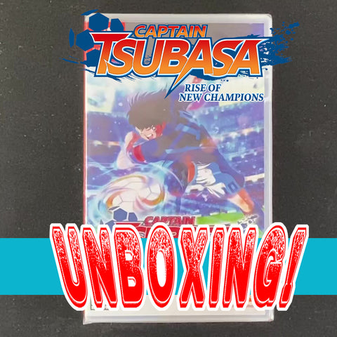 UNBOXING Captain Tsubasa: Rise of New Champions - Nintendo Switch