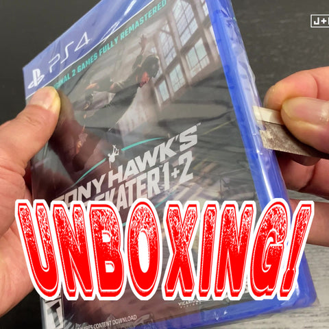 Unboxing Tony Hawk's Pro Skater 1 + 2 - PlayStation 4